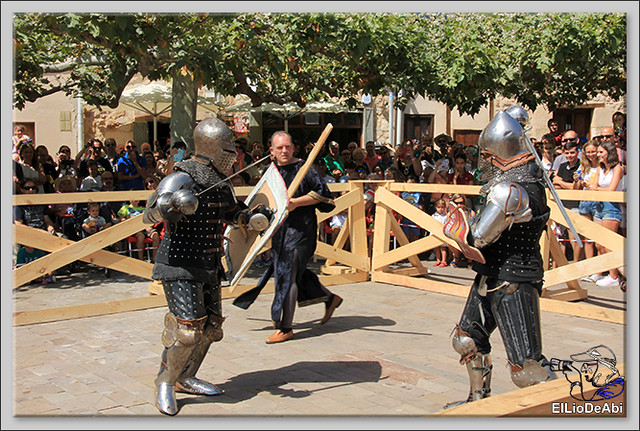 Poza de la Sal, Feria de Artesanía y Alimentación y Combates medievales (11)