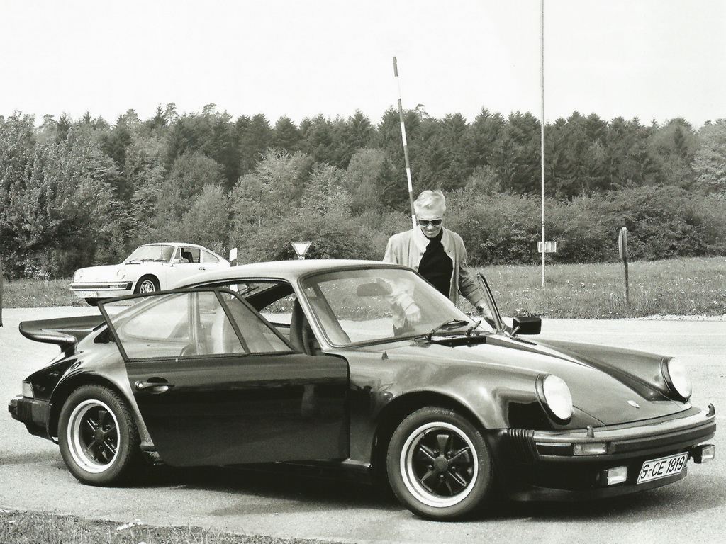 Porsche 911 Turbo 3.0 Coupe (кузов 930). 1975 – 1977 годы