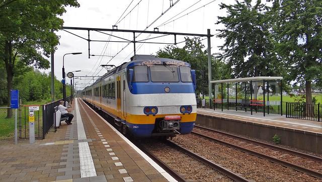 Station Hoensbroek NS Sprinter SGMm 2967