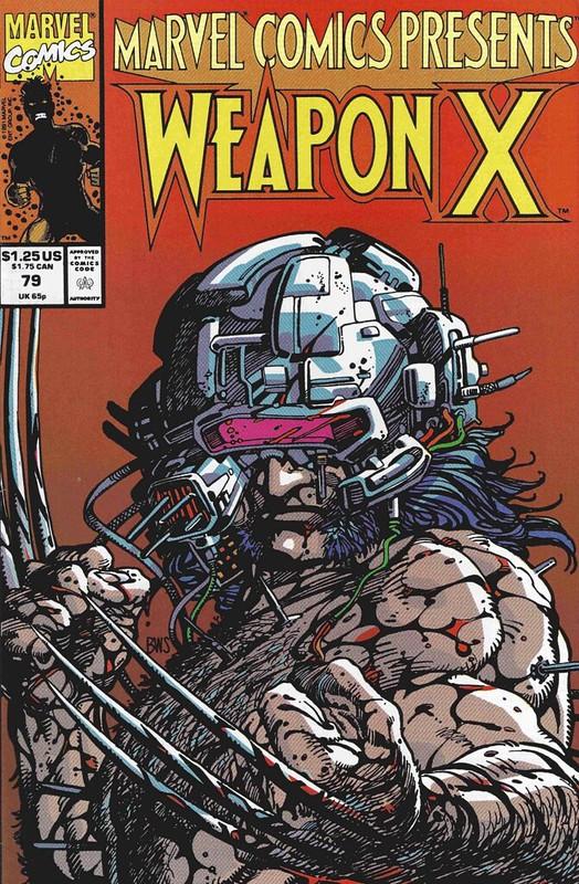 Xmen Wolverine Weapon X