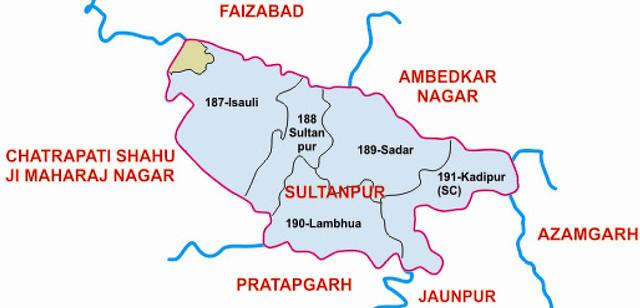Sultanpur district Uttar Pradesh Election 2017