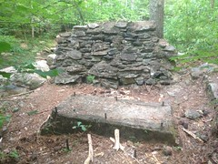 Ruins Near Lower Bear Creek Falls