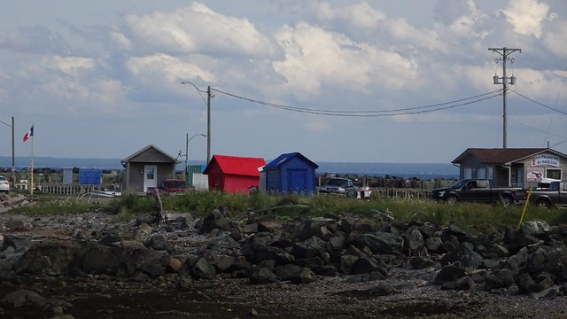 Fishing Shacks in Acadian Country