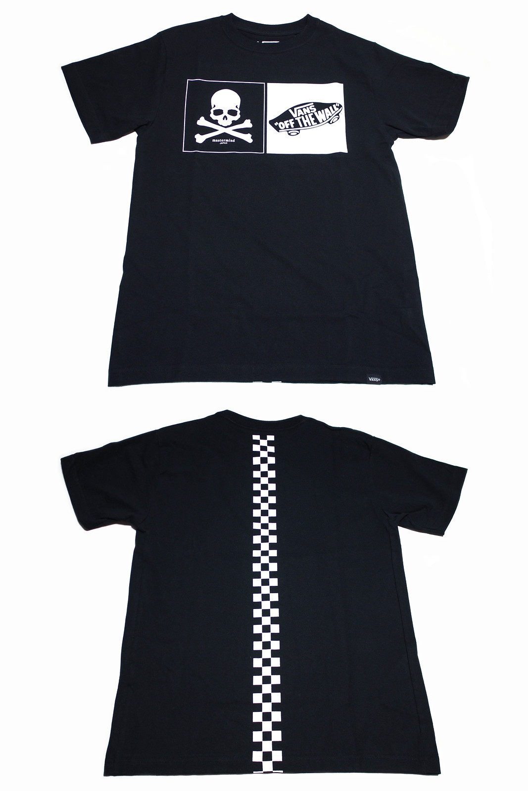 VANS × mastermind JAPAN | BACK CHECKER OTW S/S T-Shirts