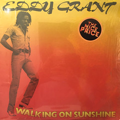 EDDY GRANT:WALKING ON SUNSHINE(JACKET A)