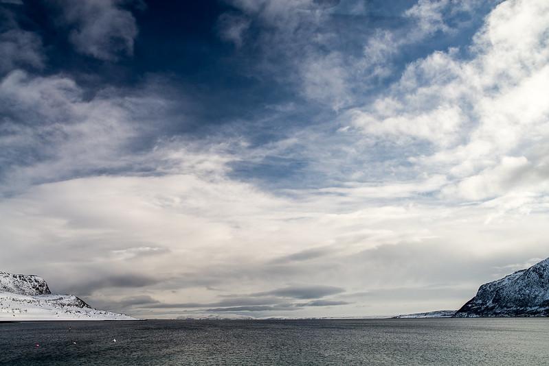 LLegando a Magerøya