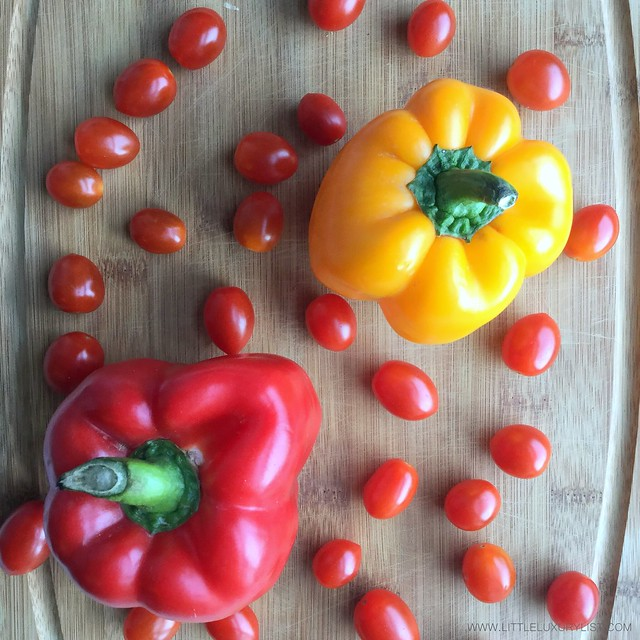 7 foods for healthy skin tomatoes and peppers by little luxury list
