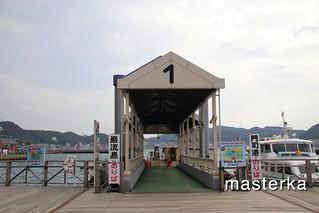 巌流島の遊覧船入り口