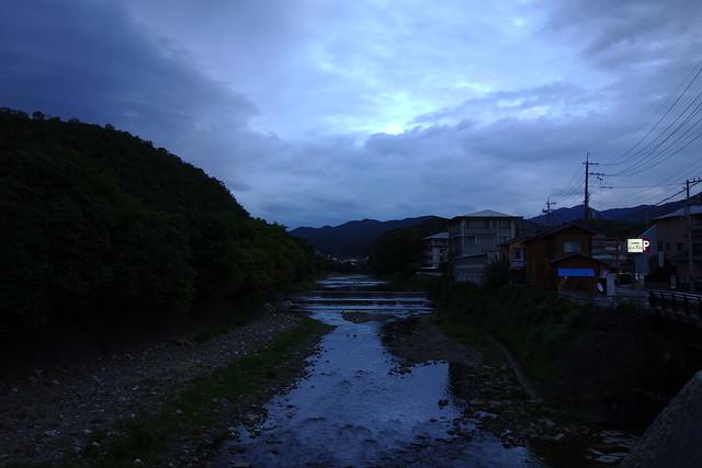 2016/09 松ヶ崎橋から高野川 #01
