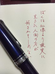 Montblanc Bordeax & Burgundy Red