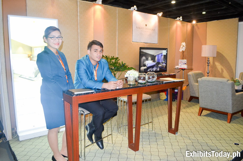 Makati Diamond Residences Exhibit Booth