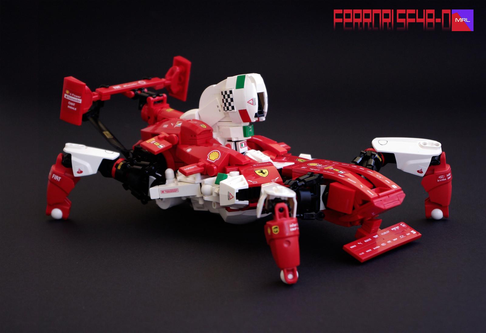 MRL Ferrari SF48-O