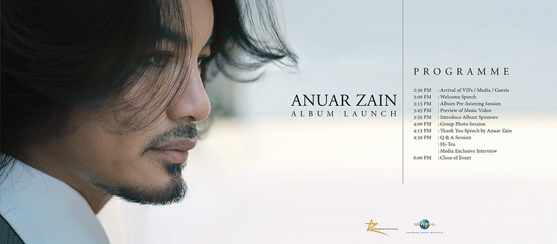 Anuar Zain Bakal Lancar Album Terbaru