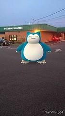 Snorlax Starbucks