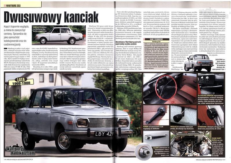 Wartburg 353 - Dwusuwowy Kanciak - AutoŚwiat - 1/2007