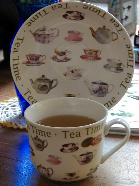 Teatime Teacup
