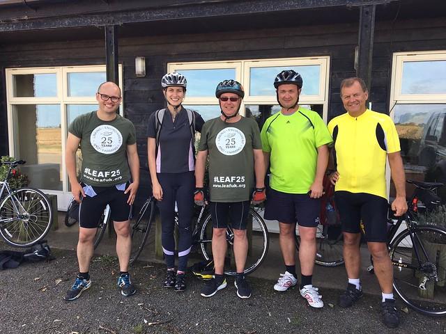 Tour de LEAF Sponsored Bike Ride