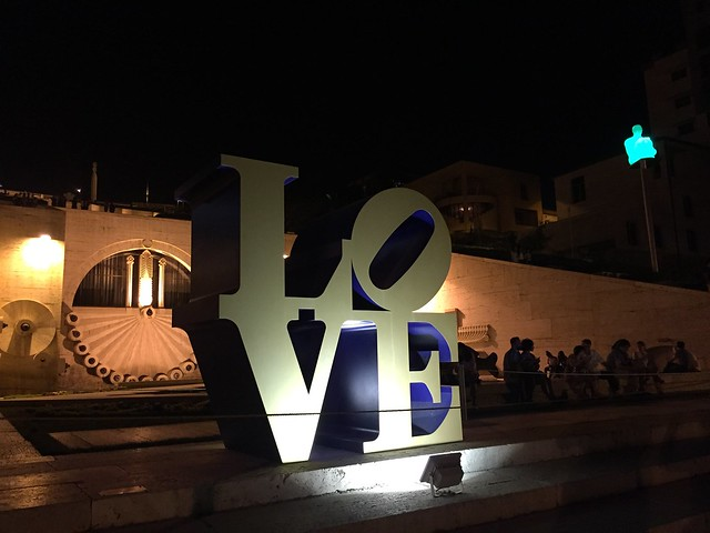 Cascade Yerevan LOVE