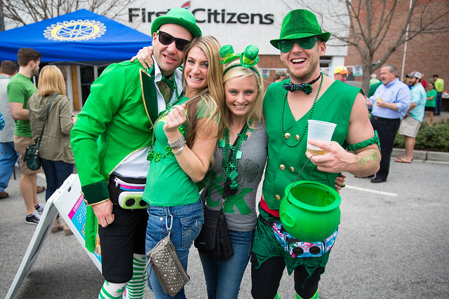 St. Paddy's Day in North Charleston