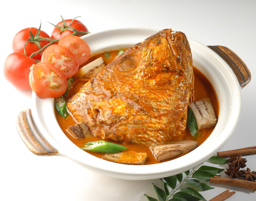 Indian Restaurants: Fish Head Curry
