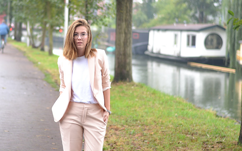Zara Pink Suit 1
