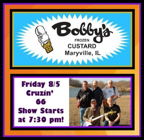 Bobby's Frozen Custard 8-5-16