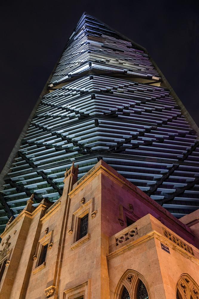 Небоскреб в Мексике Torre Reforma