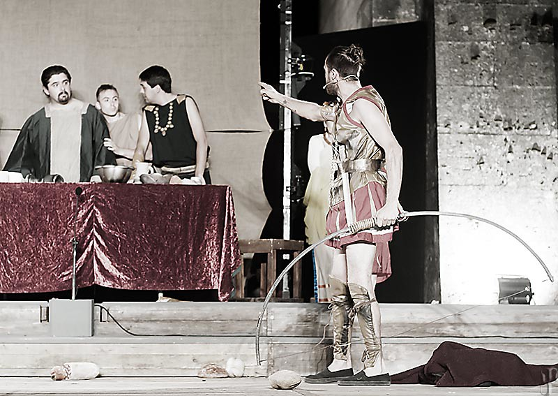 Bruscello Storico 2014 - Odissea