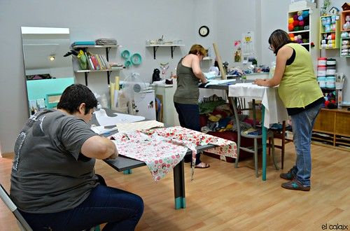 taller costura vestit nena juliol 1