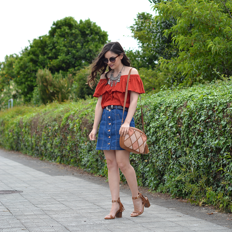 zara_ootd_lookbook_street style_stradivarius_denim_04