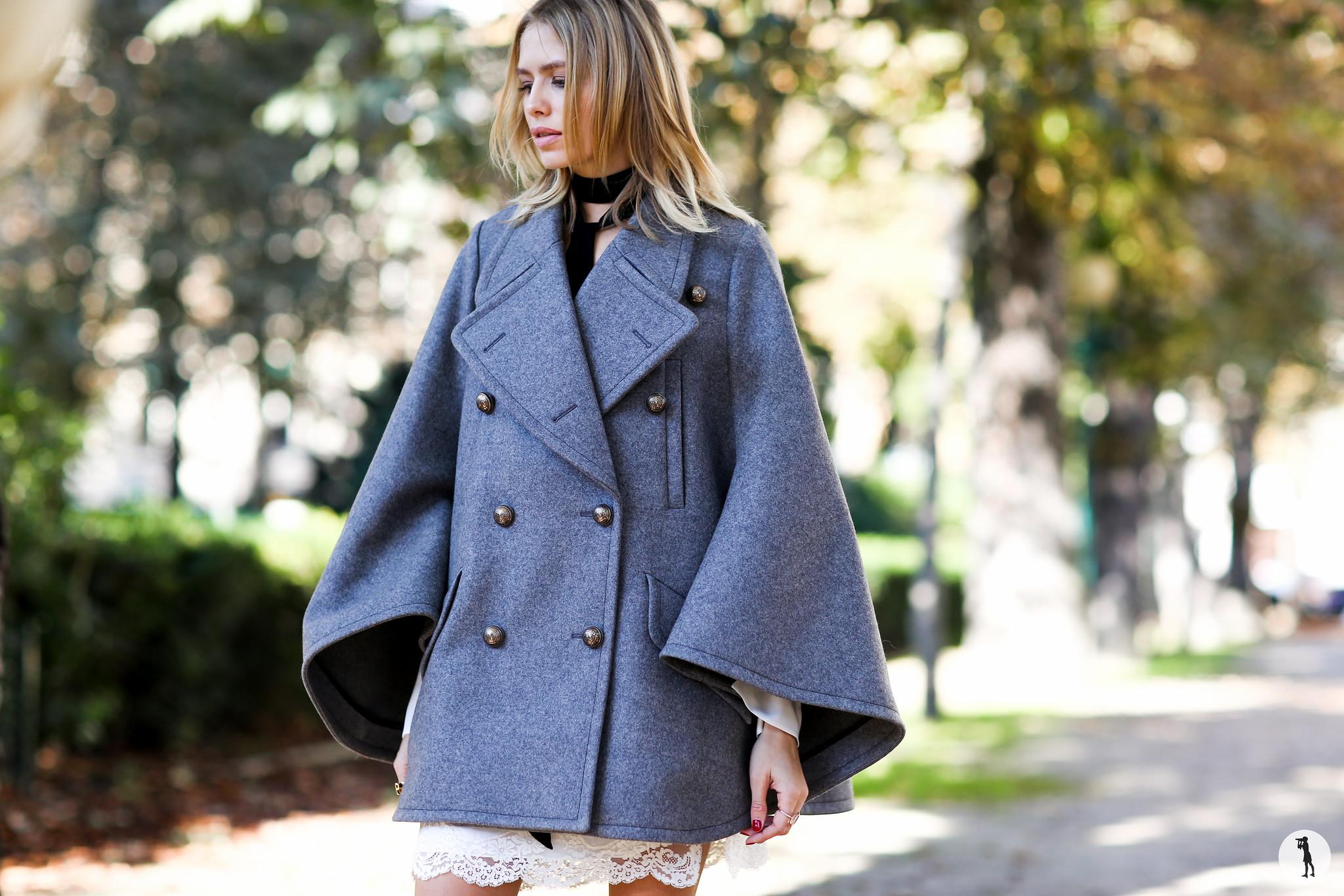 Elena Perminova at Paris Fashion Week-2
