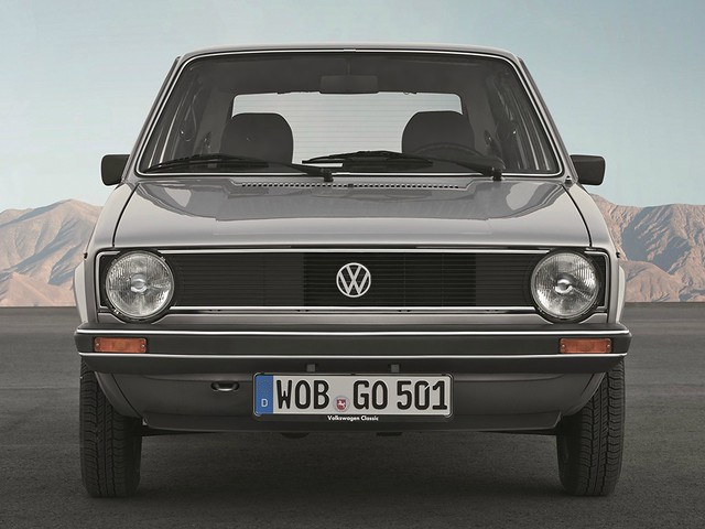 Volkswagen Golf 1. 1974 - 1983 годы