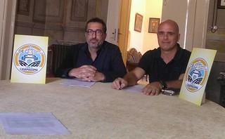 Il sindaco Vito Cessa e l'assessore Bagalà