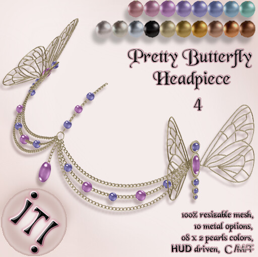 !IT! - Pretty Butterfly Headpiece 4 Image