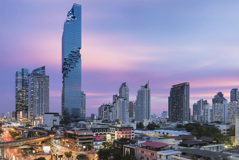 MahaNakhon Tower - высочайшее здание Бангкока