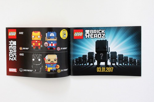LEGO Marvel BrickHeadz Iron Man & Captain America (41492)