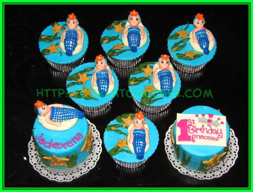 Set cupcake dan minicake