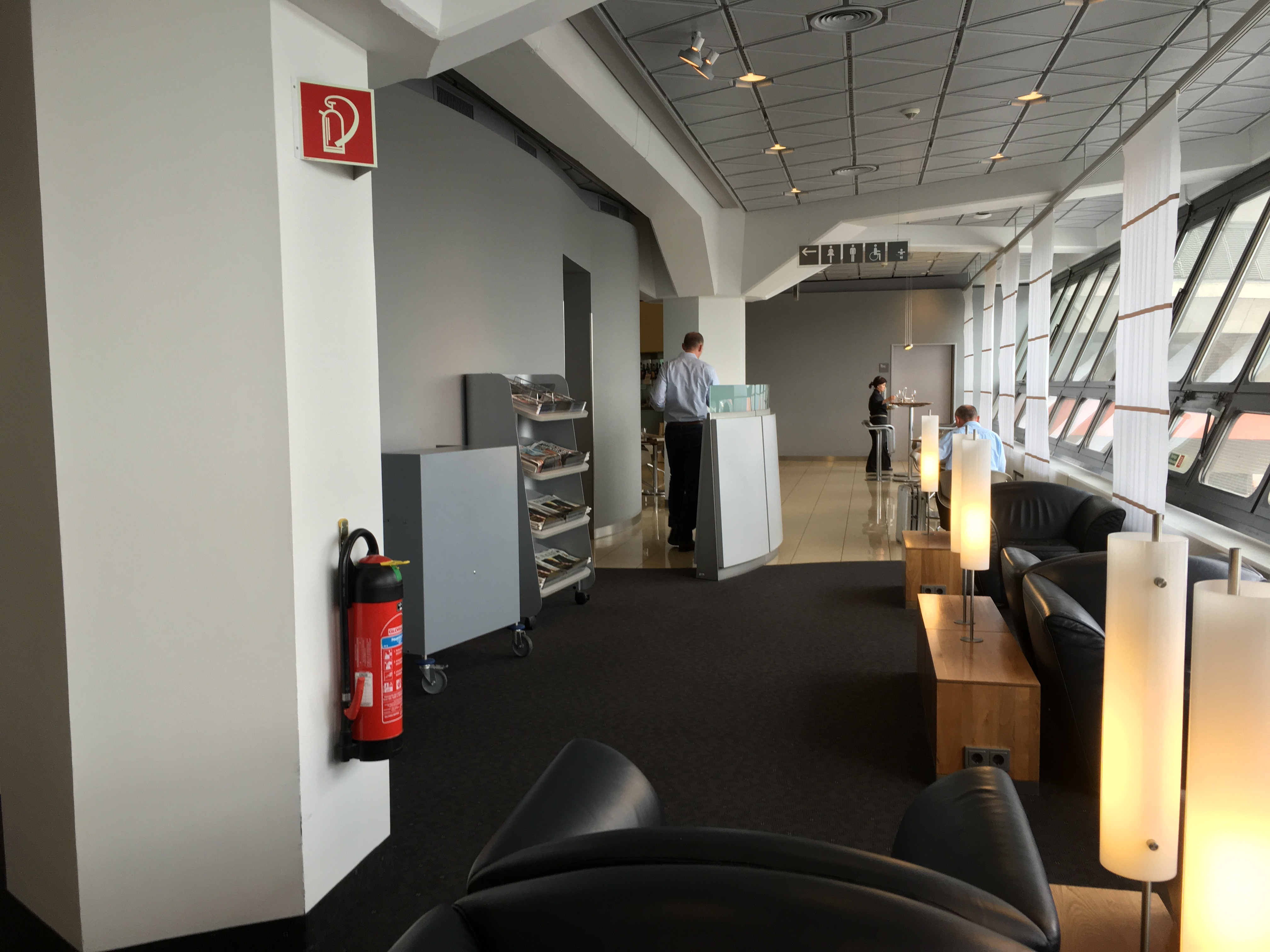 Lufthansa Senator Lounge, Berlin