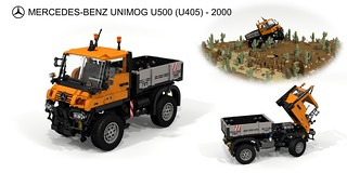 Mercedes-Benz Unimog U500 (Series 405 - 2000)
