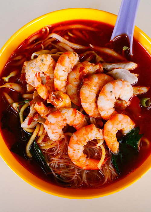 Red Leaf Penang Prawn Mee