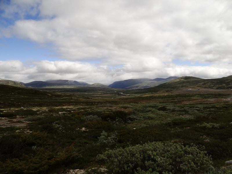 The Dovrefjell from a distance