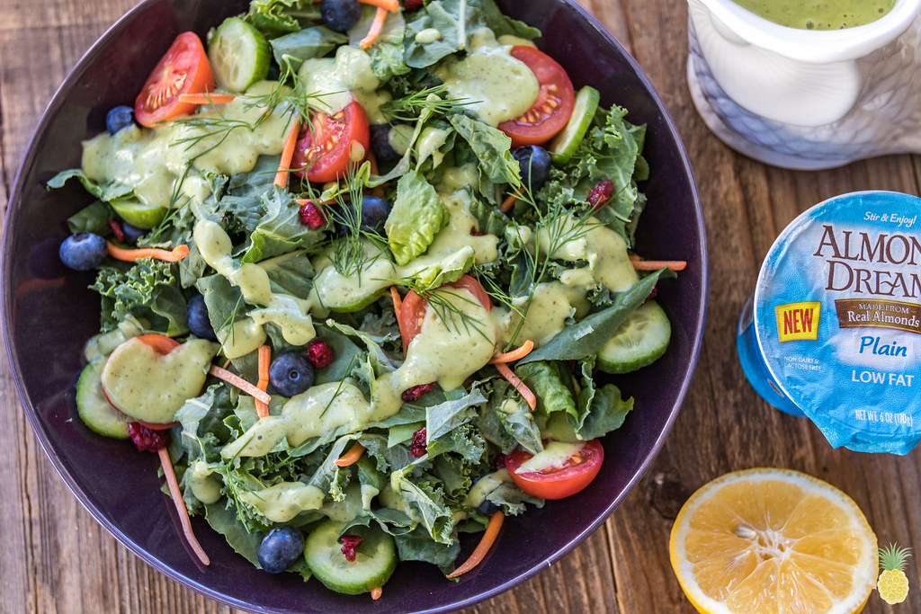 Vegan Avocado Yogurt Ranch Dressing