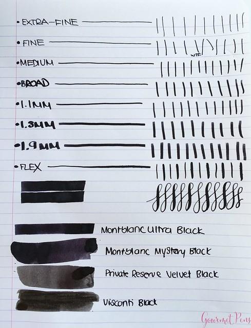 Ink Shot Review Montblanc Ultra Black @Montblanc_World @AppelboomLaren 4