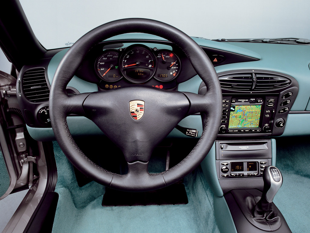 Porsche Boxster (кузов 986). 1996 – 2003 годы