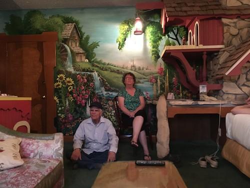 Grandparents and Dutch Mill