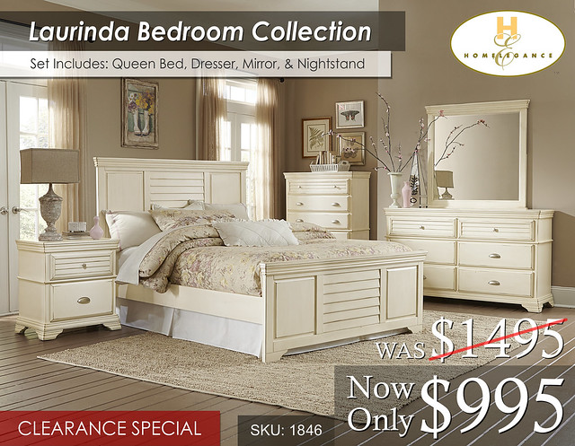 1846 Laurinda Bed Set (SEP2016)