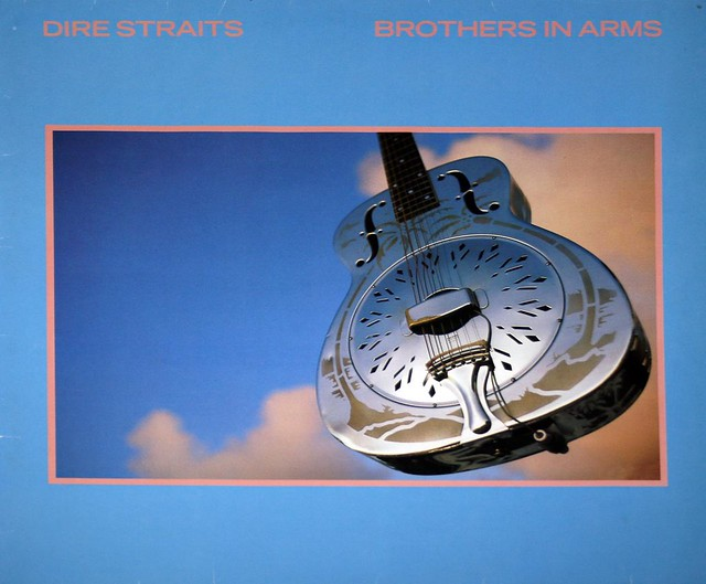 "DIRE STRAITS BROTHERS IN ARMS Netherlands 12"" VinyL LP"