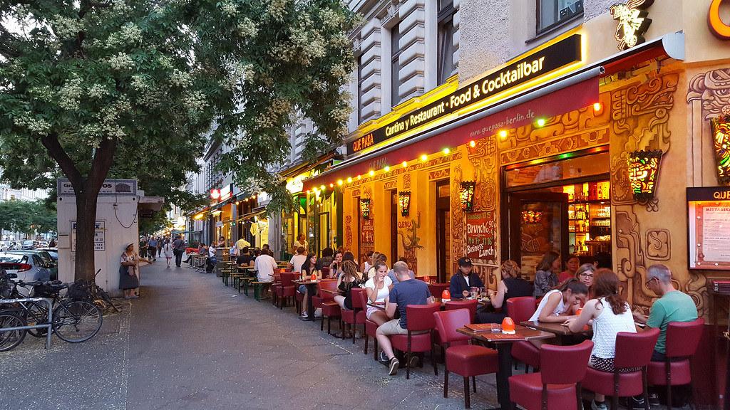 Bergmannstrasse, Restaurant Street