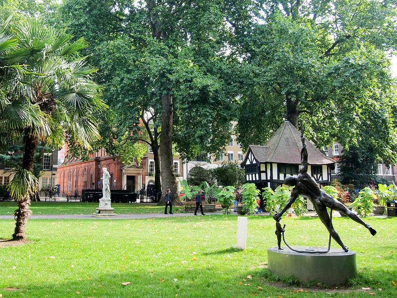 Soho Square in London