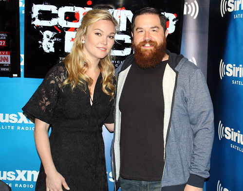 Julia Stiles on the Covino & Rich Show